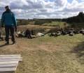 karup-feltskydning